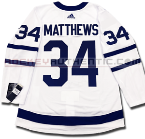 outlet store 6a85e 3a7a1 Details about AUSTON MATTHEWS TORONTO MAPLE LEAFS AWAY AUTHENTIC PRO ADIDAS  NHL JERSEY