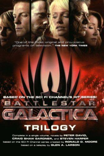 1 of 1 - Battlestar Galactica Trilogy (Battlestar Galactica (Paperback)) NEW BOOK