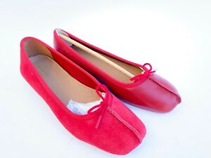 Ballerine donna CLARKS Originals Freckle ice Red