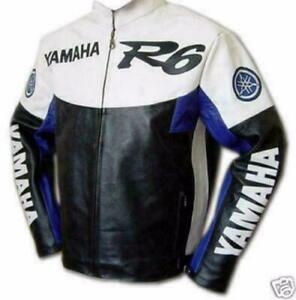 YAMAHA MOTORCYCLE LEATHER JACKETS WITH ARMOR PROTECTION- Custom Tailored---- ANY DESIGN, ANY LOGO Canada Preview