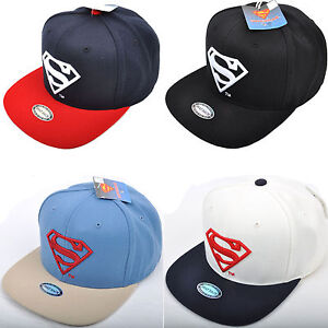 Unisex Men Women WB DC Comics Superman S Logo Embroidered Baseball ... d30a64d85c6c