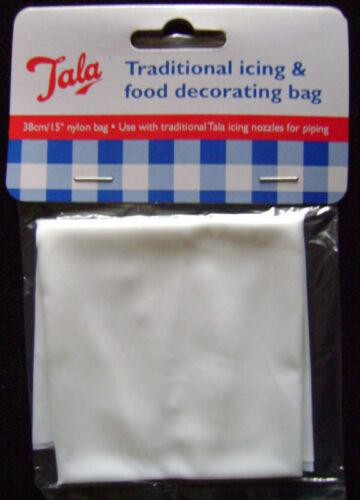 12 NEUF TALA Glaçage Décoration alimentaire traditionnelle sac Tuyauterie 30cm 9055