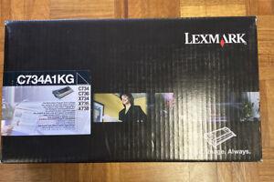 Genuine-Lexmark-C734A1KG-Black-Toner-Cartridge-C734-C736-X734-X736-X738