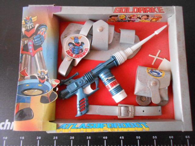 ˚。 oroRAKE oroORAK Space Atlas Ufo Robot Gun Pistole Set Ginpel 。˚