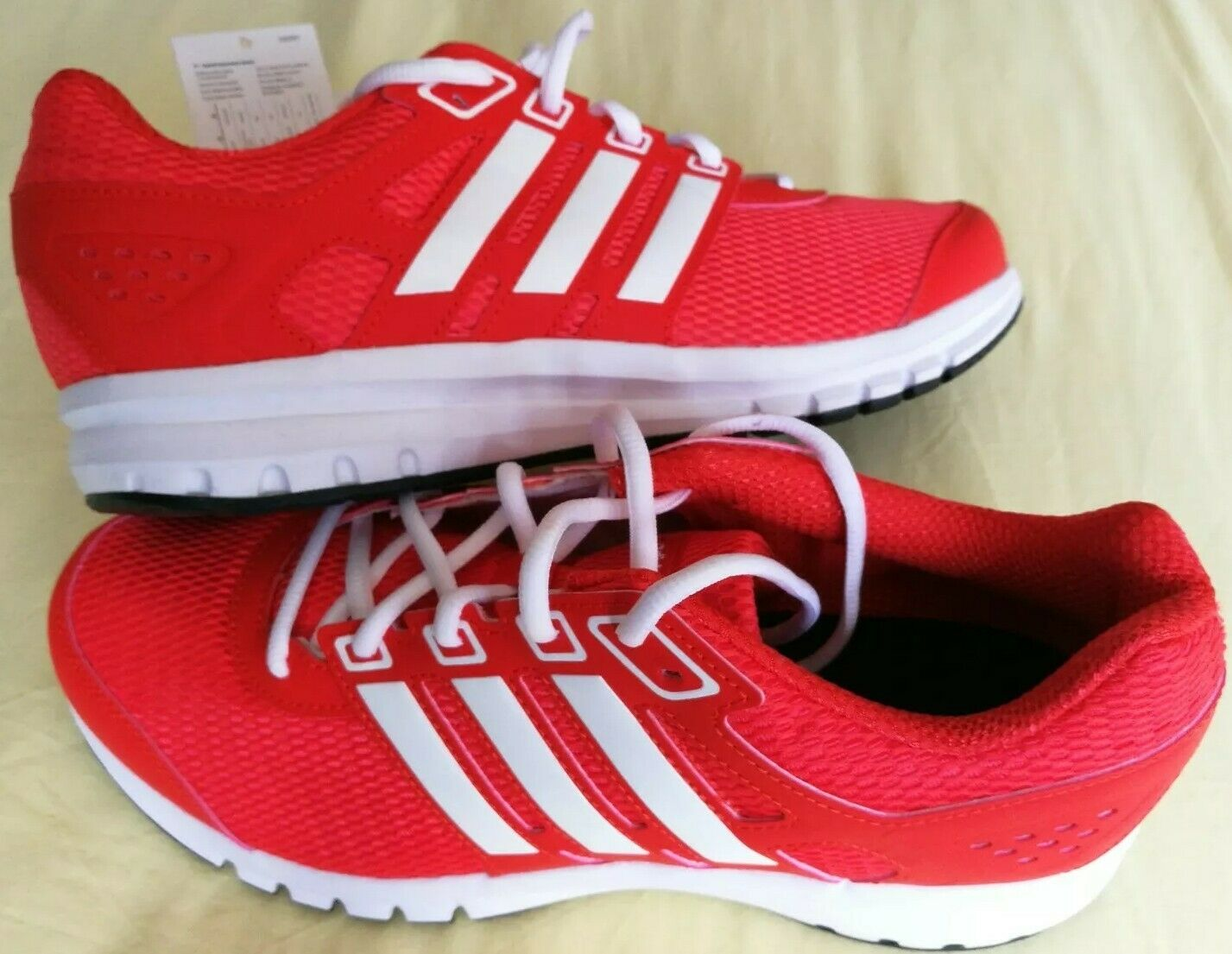Adidas Mens Trainers Duramo Lite M CP8761 UK Size 9 in Red New in Box R.R.P.