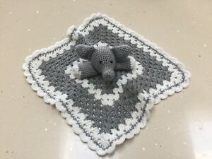 Crochet Elephant Baby Blanket and Matching Toy Pattern - | 225x300