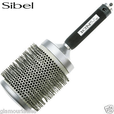 Sibel CERAMIC ION-X 151 100mm Large Round Radial Hair Brush Nylon Bristles