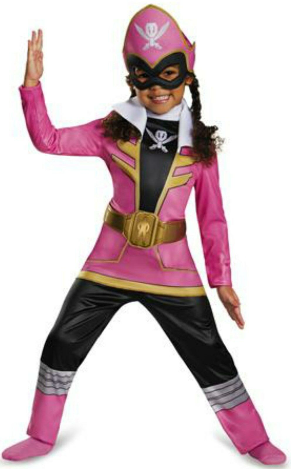Power Rangers Super Megaforce Pink Ranger Costume Toddler For Girls