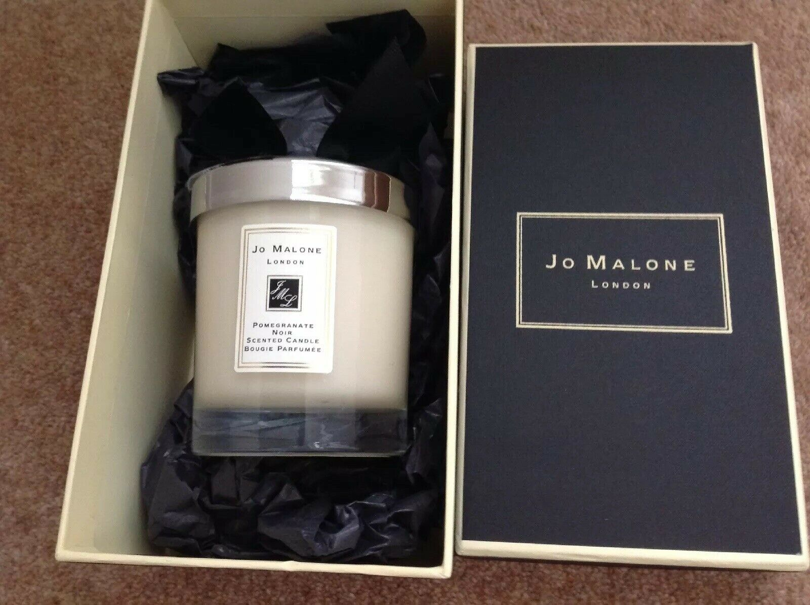 JO MALONE POMEGRANATE schwarz SCENTED CANDLE 9CM HIGH BRAND NEW IN GIFT BOX