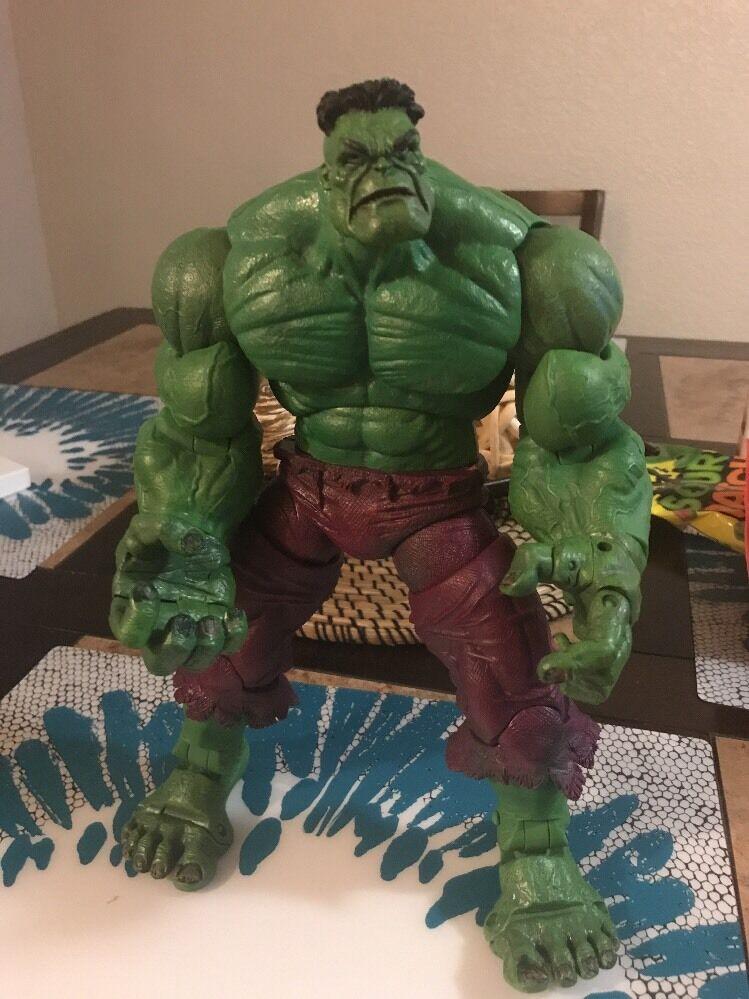 Marvel - legenden icons grüne hulk 12 - inch - actionfigur spielzeug - geschäft 2006 frei