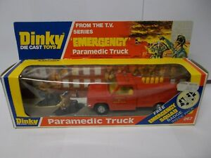 Dinky 267 Camion Ambulancier Coffret Vintage 1978