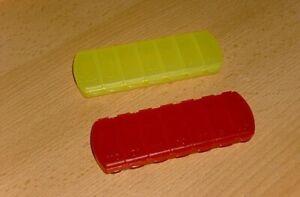 2 Pillendosen Tablettendose Pillenbox 7 Fächer 7 Tage Tablettenbox Pillenspender