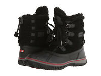 Pajar Canada Women's Iceland Black Leather/nylon Boot Sizes Eu 36 W/ Box