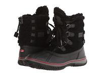 Pajar Canada Women's Iceland Black Leather/nylon Boot Sizes Eu 36 W/ Box