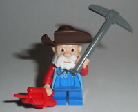 Toy Story Lego Stinky Pete W/dynamite Custom (genuine Lego Parts) 7594