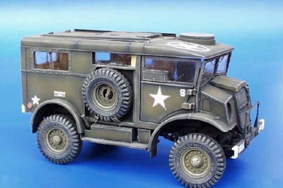 PLUS MODEL CONVERSION KIT CHEVROLET C8A HUP WWII Scala 1 35 Cod.PL008