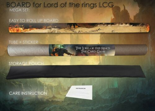 THE LORD OF THE RINGS MAP EDITION LCG BOARD GAMEBOARD CCG PLAYMAT CARD GAME