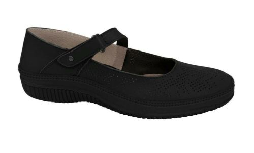 Womens Natural Comfort Adeline Flat Casual Work Strap Dress Comfortable Shoes