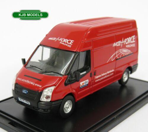 BNIB OO GAUGE OXFORD 1:76 76FT034 Ford Transit Mk5 Parcelforce Van