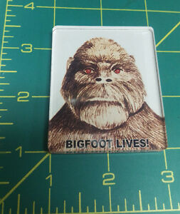 Bigfoot-LIVES-Acrylic-Magnet-unique-Sasquatch-collectible-made-in-the-USA