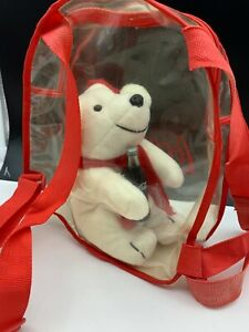 Coca-Cola-Stuffed-Toy-Polar-Bear-6-5-16in-Top-Condition
