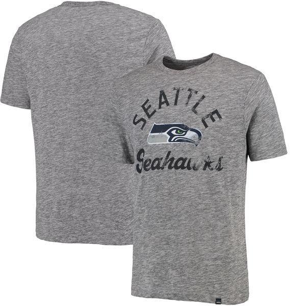 NFL FOOTBALL FOOTBALL NFL T-shirt Seattle Seahawks HYPER Classic Slub di MAJESTIC 67f20e