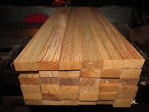 "Exotic Wood Premium Marine Teak Lumber  1"" X 16"" X 1/2"""
