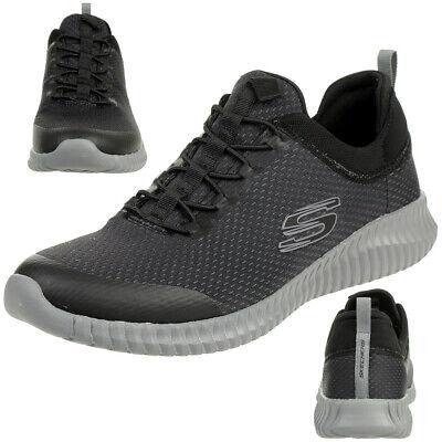 Skechers Sport Homme Elite Flex Westerfeld Baskets Chaussures Hommes Noir | eBay