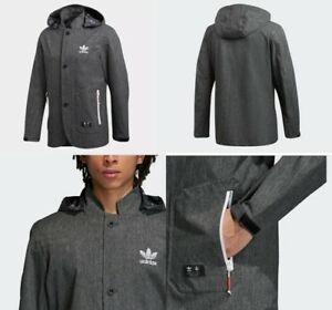 Details about Adidas x UA and Sons Urban Jacket Black Grey Large Size CD7726