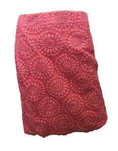 Brand New Boden Flower Organza Pink Pencil Skirt Size US 4 L