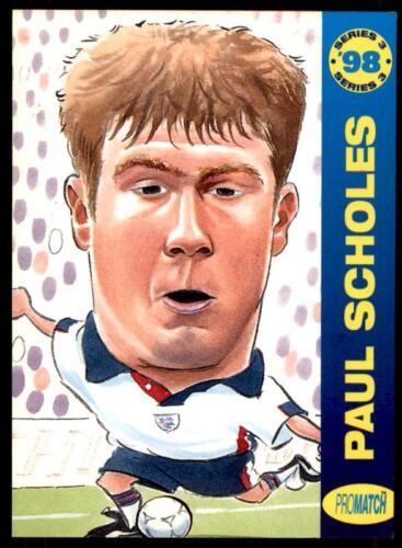 ProMatch 1998 Series 3 England P.Scholes No.WC4