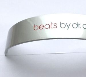 Replacement-Top-Headband-for-Dr-Dre-Beats-Monster-Studio-Headphone-Grey-Silver