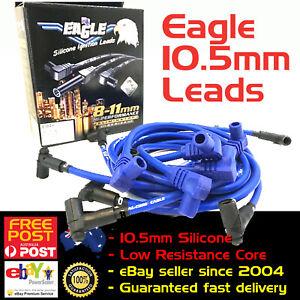EAGLE-10-5mm-Ignition-Spark-Plug-Leads-V8-SB-Chev-327-350-Under-Exhaust