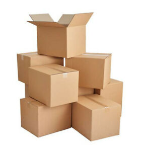 10-200 12x9x6 Cardboard Packing Mailing Shipping Corrugated Box Cartons Moving