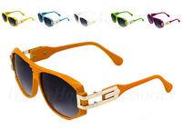 Vintage 163 Grandmaster Sunglasses Lens 80's Retro Mens Women Gold Frame Hip Hop