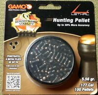 Gamo Lethal .177 Cal. Hunting Pellets 100 Count 5.56 Grains Accuracy Penetration