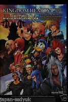 JAPAN Kingdom Hearts II Final Mix + Ultimania Square enix Disney Book