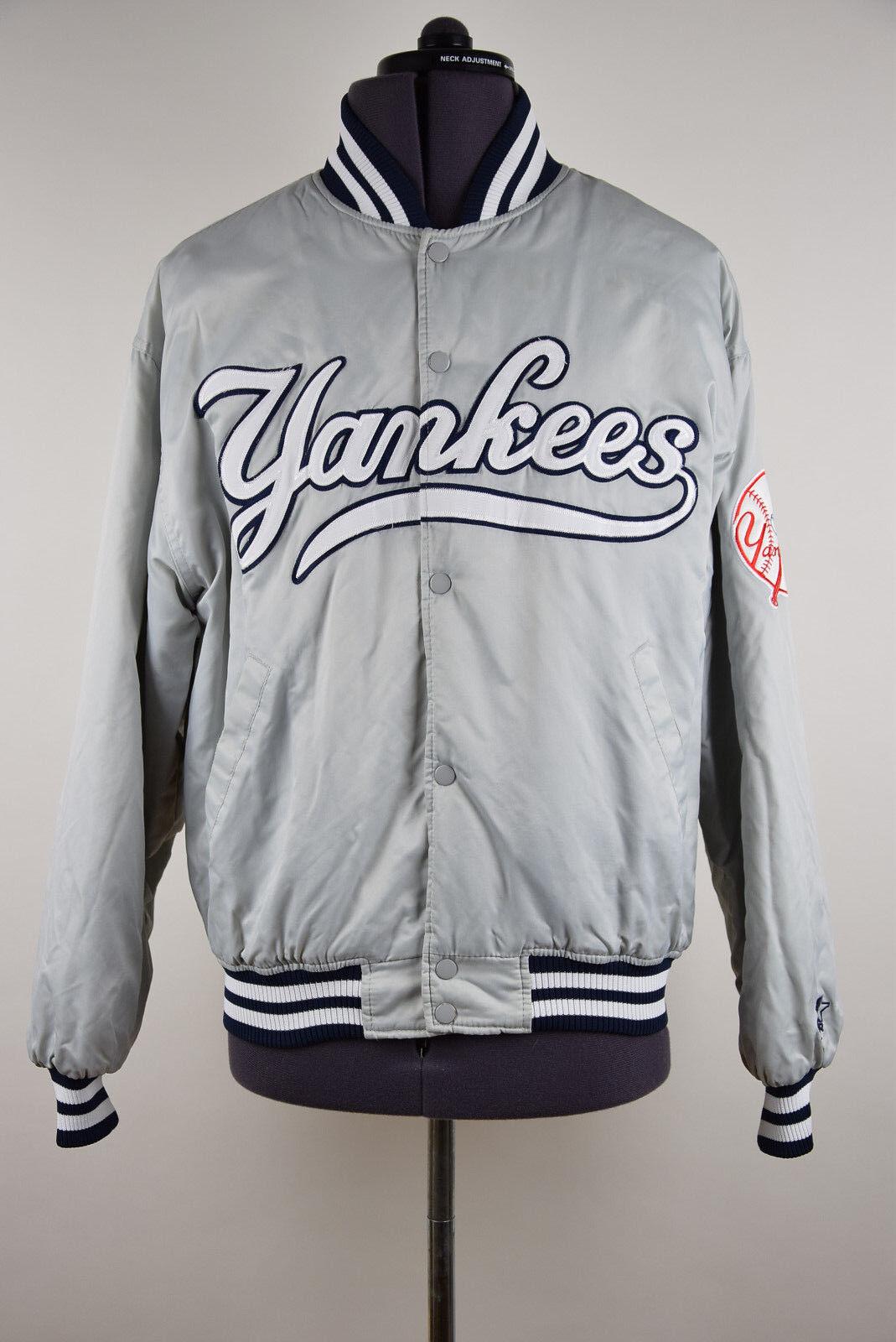 New York Yankees Chaqueta De Béisbol Vintage De Arranque