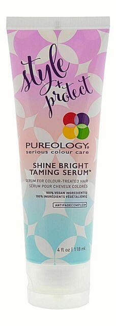 SAME DAY SHIP Pureology Style + Protect Shine Bright Taming Serum 4oz