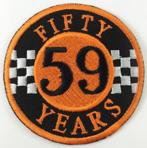 Image Is Loading FIFTY YEARS 59 CLUB SEW OR IRON ON