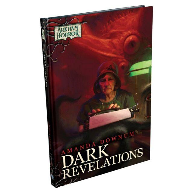 Arkham Horror Dark Revelations Hardcover Fiction Game Cards FFGNAH16