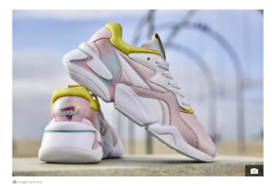 Details about PUMA x BARBIE Nova Sneaker in White Orchid Pink (special  edition)
