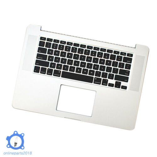 "New For Macbook Pro Retina 15/"" A1398 2015 Top case Palmrest w keyboard  US"