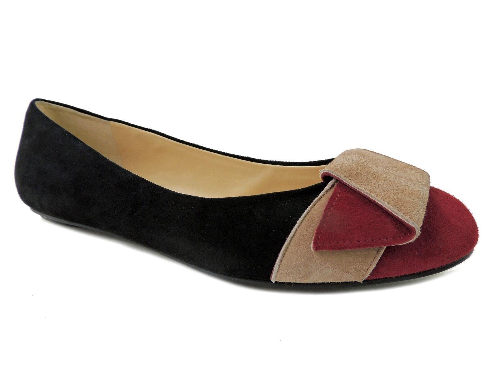 forma unica Ivanka Trump Donna Cece Cece Cece Flats nero Multi Suede Dimensione 6.5 M  prima qualità ai consumatori