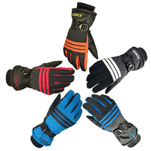 Mens-Winter-Warm-Sports-Waterproof-Snow-Motorcycle-Snowboard-Ski-Cycling-Gloves