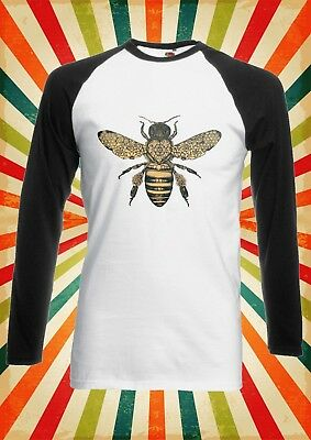 Bee Drawing Moth Insect Tattoo Funny Men Women Vest Tank Top Unisex T Shirt 1556