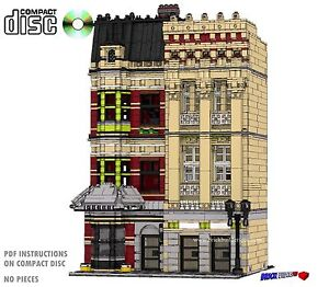 CD-Modular-Westminster-Row-Apartments-Lego-Custom-Instructions-cafe-city-town-8