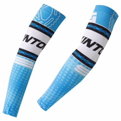 New Unisex Cycling Arm Warmers Bike Bicycle UV Sun Protection Cuff Sleeve Cover