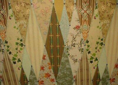 1 Half Metre Quilting Treasures Chateau Floral Flower Print Fabric 23168e SALE