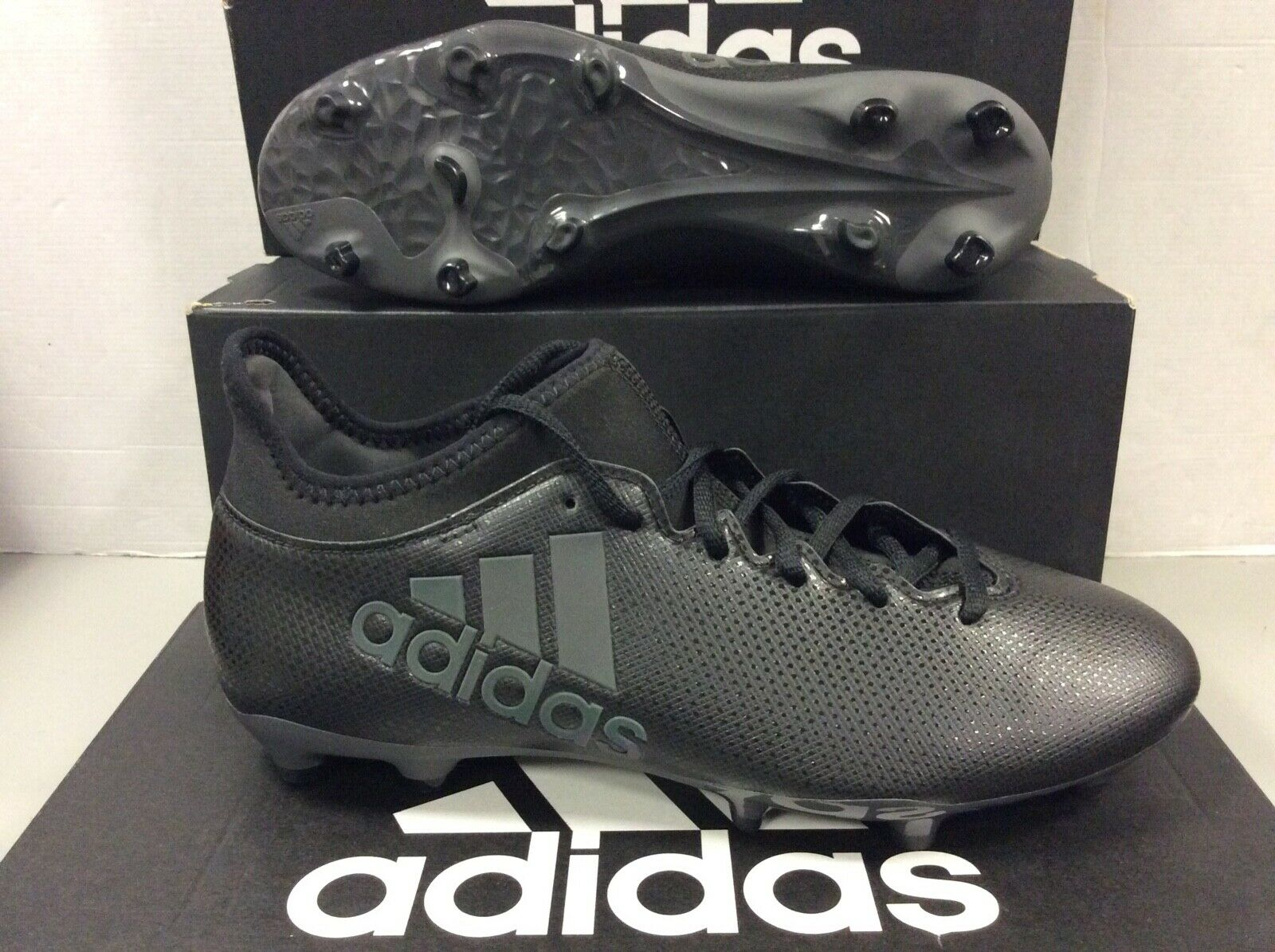 Adidas X 17.3 Fg Fútbol botas Zapatos para hombres negra, talla  44 euros